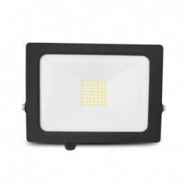 Projecteur Exterieur LED Plat Noir 50W 4000°K