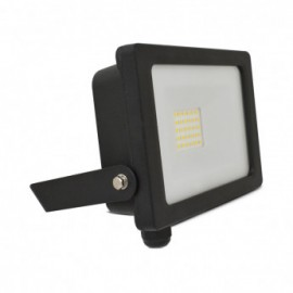 Projecteur Exterieur LED Plat Noir 20W 4000°K