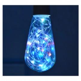 Ampoule LED E27 ST64 Filament 1W RGB