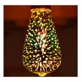 Ampoule LED E27 ST64 3W 3D