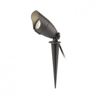 Projecteur Piquet LED 6W 4000°K NOIR IP65
