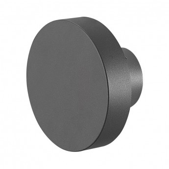 Applique Murale LED Rond Anthracite 10W 4000°K IP65