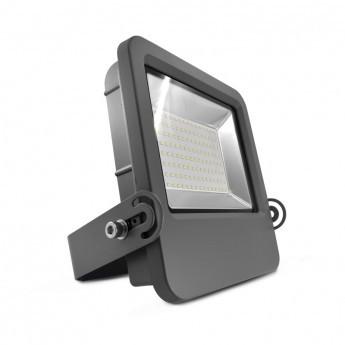 Projecteur Exterieur LED Plat Gris 120W 4000°K