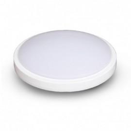 Plafonnier LED Blanc Ø330 24W 3000°K avec détecteur