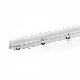 Boitier Etanche LED Intégrées traversant 3000°K 54W 5940LM IP65 1595 x 97 mm