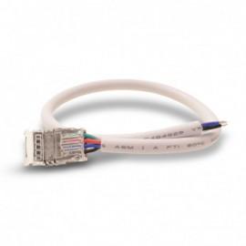 Connecteur Jonction Bandeaux LED CCT 12V / 24V 10mm pour IP20 Bandeau à Câble