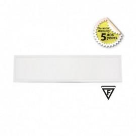 Plafonnier LED Blanc Recouvrable 1195x295 36W 4000°K - GARANTIE 5 ANS