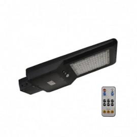 Tête de lampadaire solaire + Détecteur IR + Télécommande 40W 4000°K