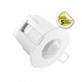 Détecteur de mouvement IR LED encastrable 360° 600W BBC