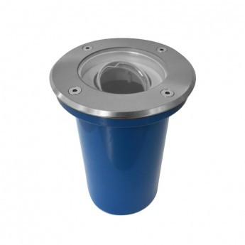 SUPPORT DE SPOT LED ENCASTRABLE SOL 316 L ORIENTABLE + DOUILLE GU10 / GU5.3