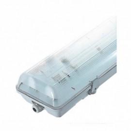Boitier Etanche LED sans ballast pour 2 Tube T8 de 1200 mm