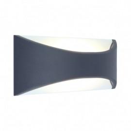 Applique Murale LED 6 Watt 230V 3000°K Anthracite IP65