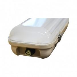 Boitier Étanche LED Intégrées 4000°K 48 Watt IP65 1200 x 110 (4) Trav