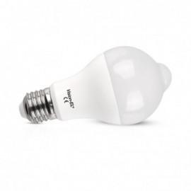 Ampoule LED + Détecteur E27 12W 1100 LM 3000°K