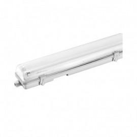 Boitier Etanche LED sans ballast pour 1 Tube T8 de 1200 mm 36w max