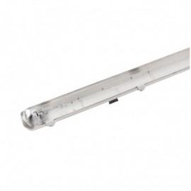 Boitier Etanche LED sans ballast P/N même côté pour 1 Tube T8 de 600 mm