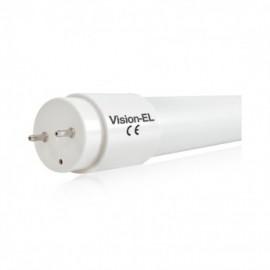 Tube LED T8 18W 3000°K 1200 mm P/N même côté