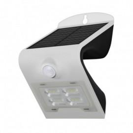 Applique Murale LED Solaire 2W 4000°K Blanc + Détecteur