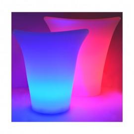 Sceau à glace LED RGB Rechargeable avec télécommande